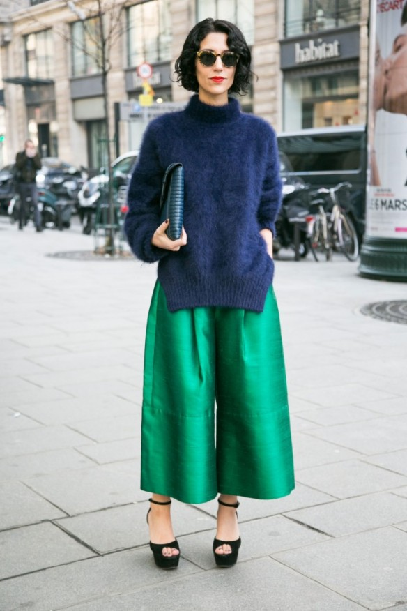 streetwear culottes