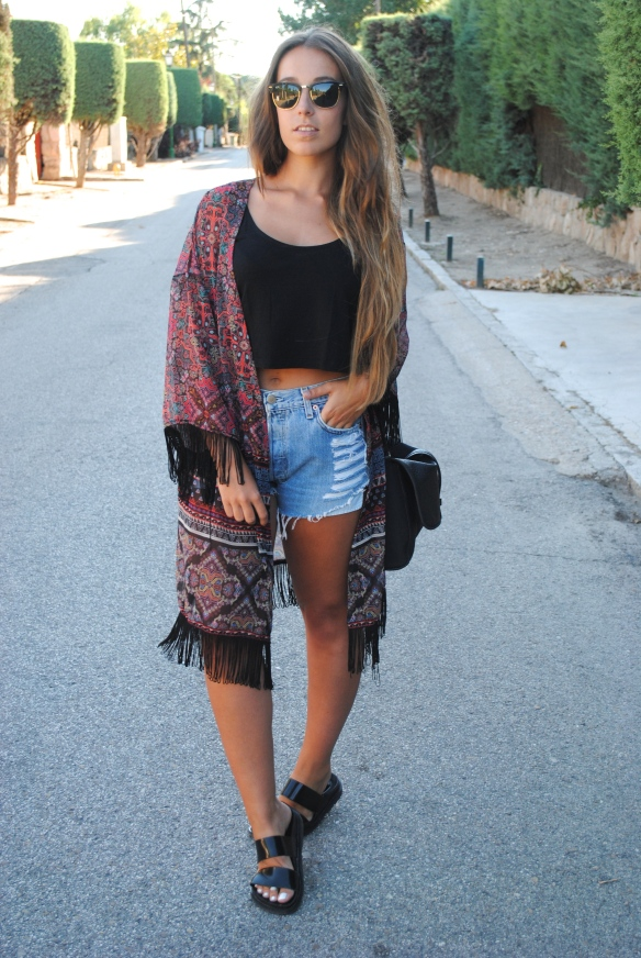 boho chic outfit