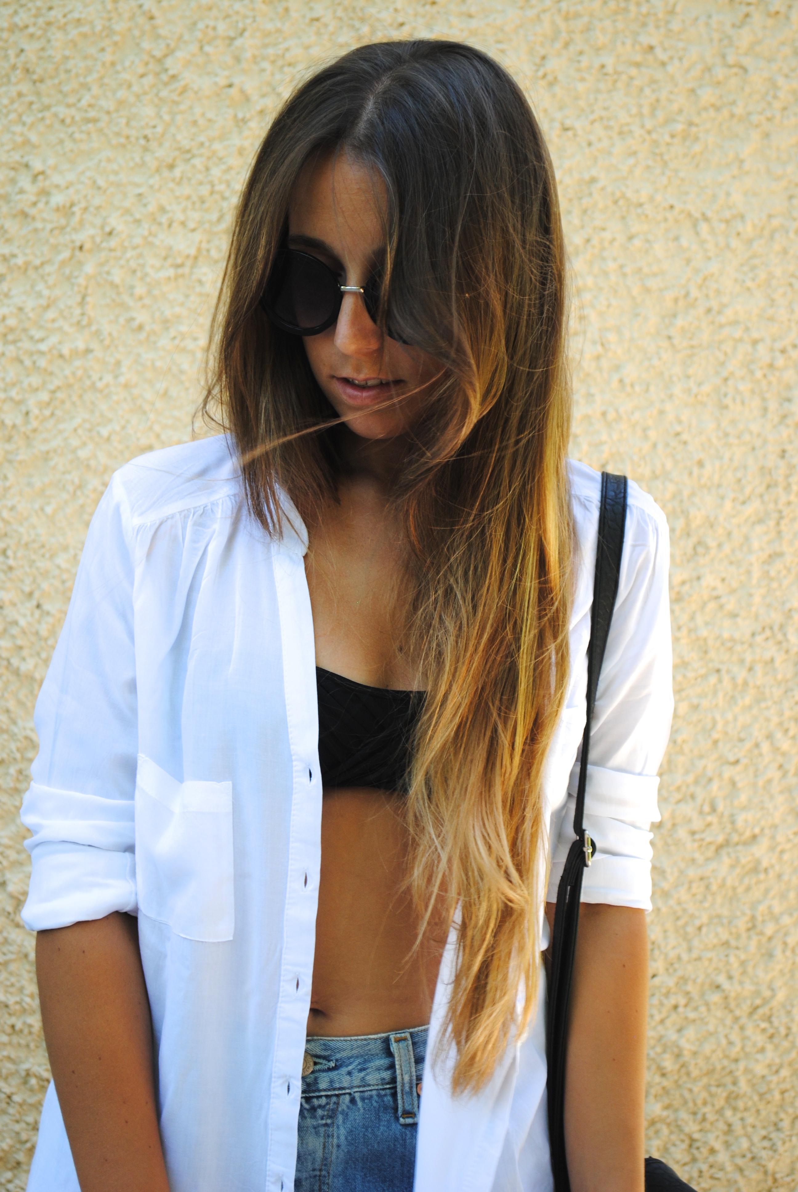 summer white shirt