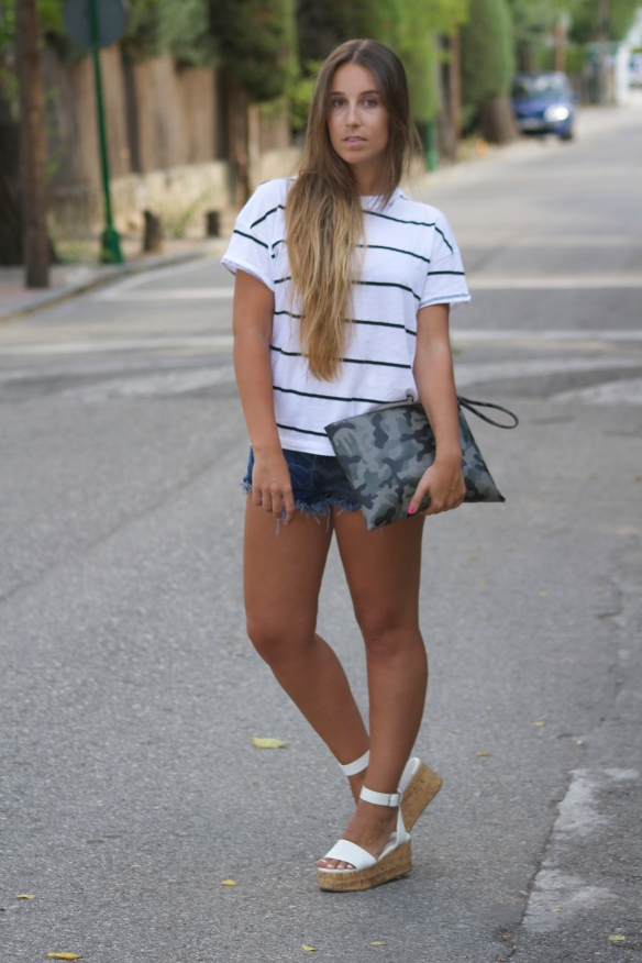 casual chic summer outfit