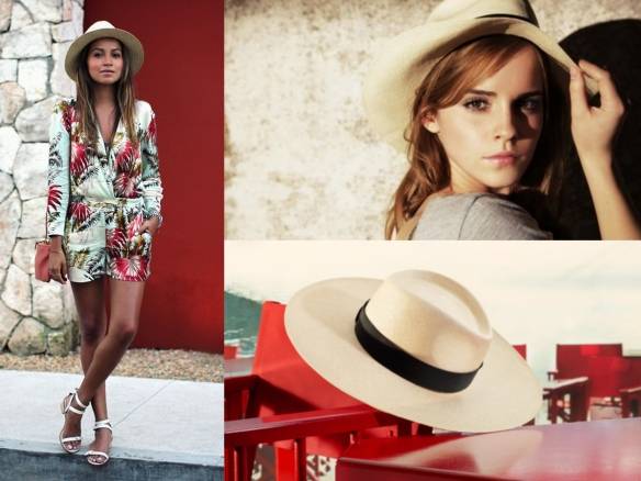 how to style panama hats