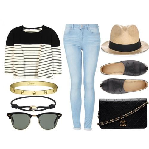 parisian style look