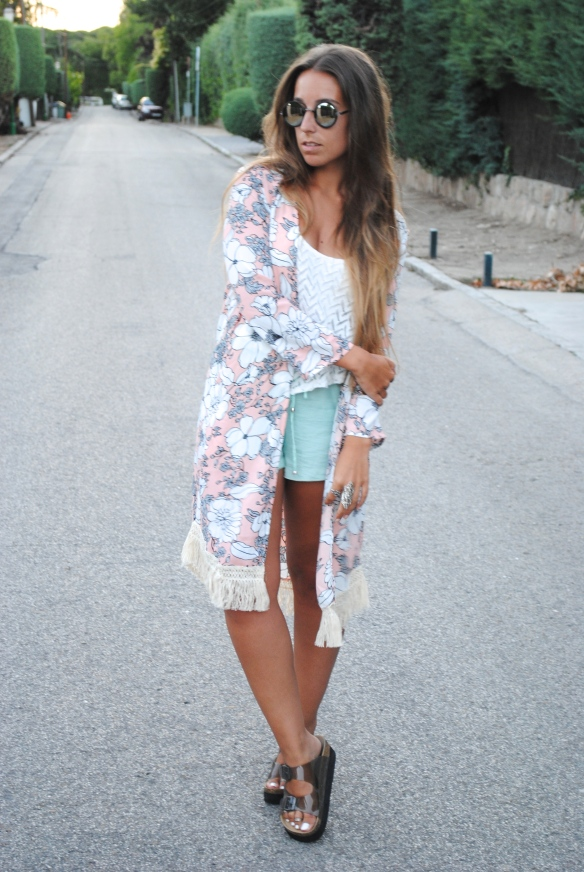 summer boho chic outfit