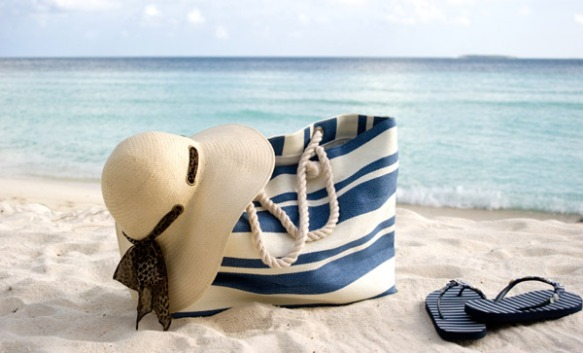 sailor style beach bag
