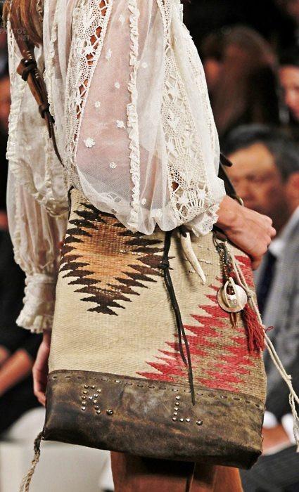 boho chic style bag