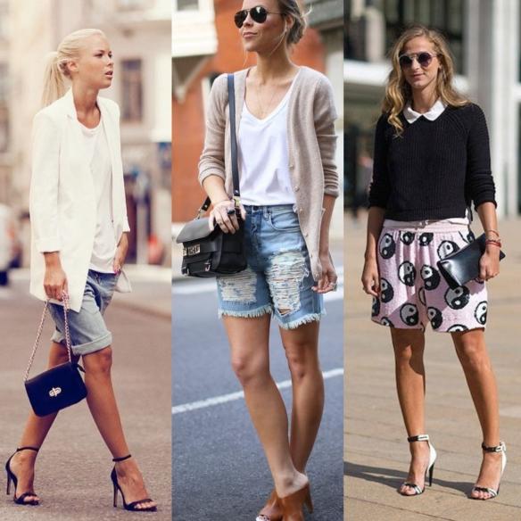 looks shorts verano