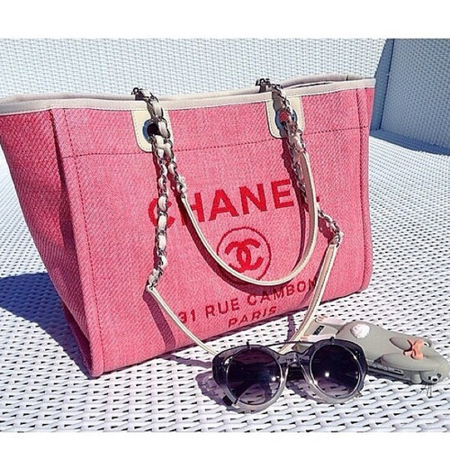 chanel beach bag