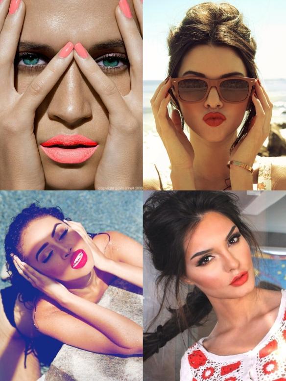 bright summer lips