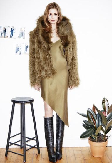 H&M Studio Fur Coat