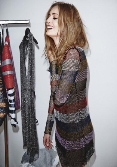 H&M Studio Stripped Dress