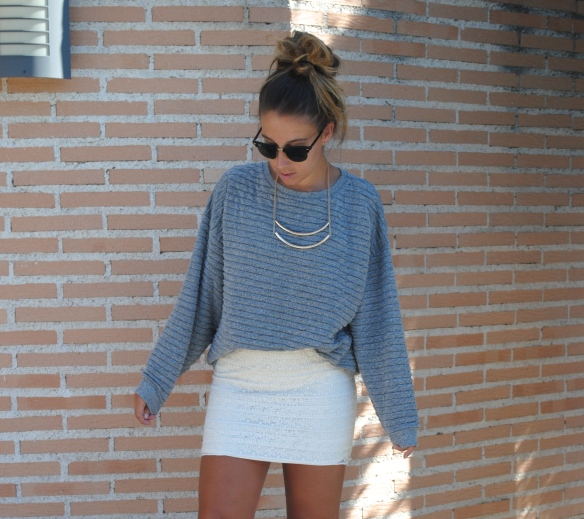 textured sweater