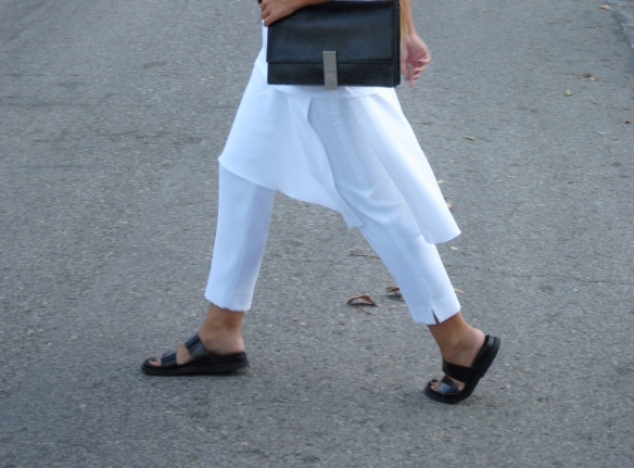 falda pantalón largo