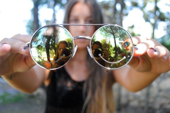 hippie style sunglasses