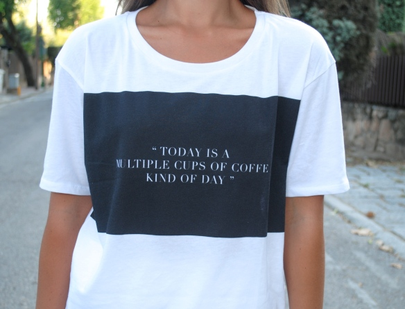 zara quote t-shirt