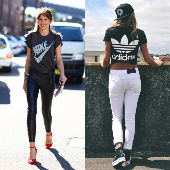 sport luxe t-shirts
