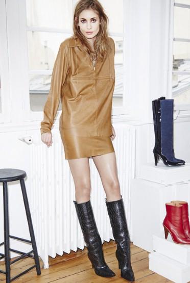 H&M Studio Leather Top