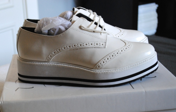 zapatos oxford plataforma