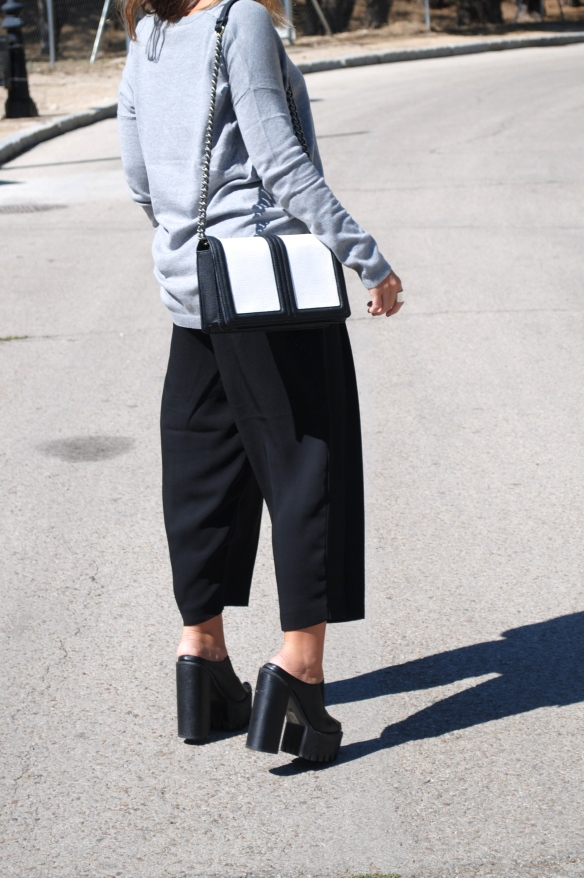 pantalones anchos vestir