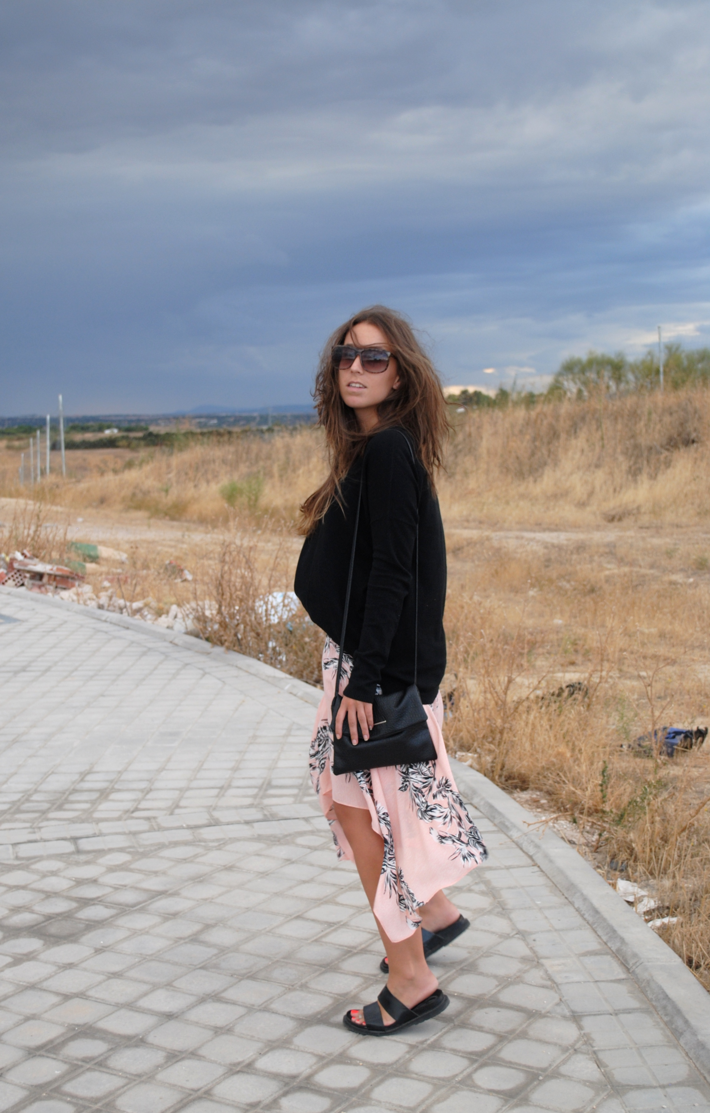 summer fall transition outfit