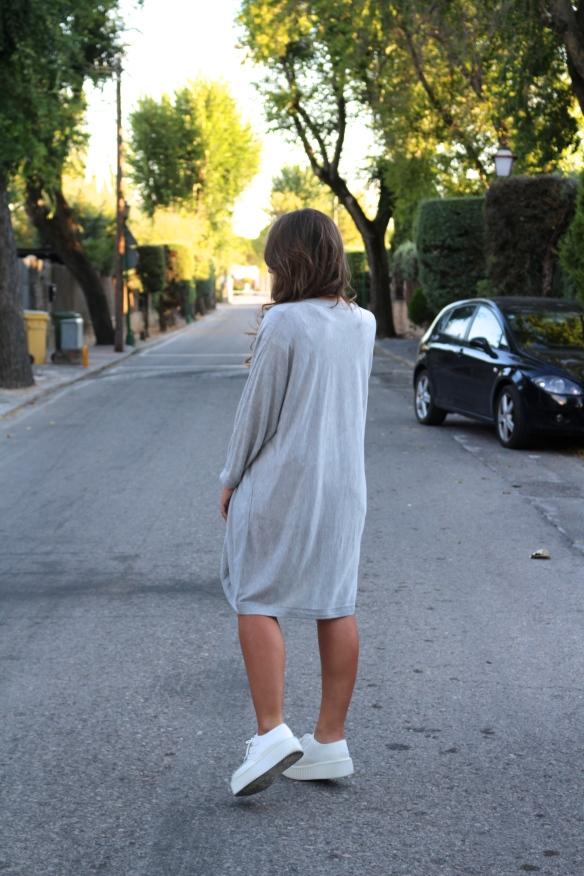 grey maxi cardigan
