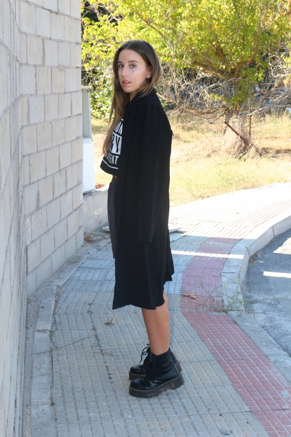 long black duster coat