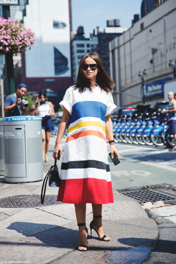 New_York_Fashion_Week_Spring_Summer_15-NYFW-Street_Style-MIroslava_Duma-Striped_Dress-4