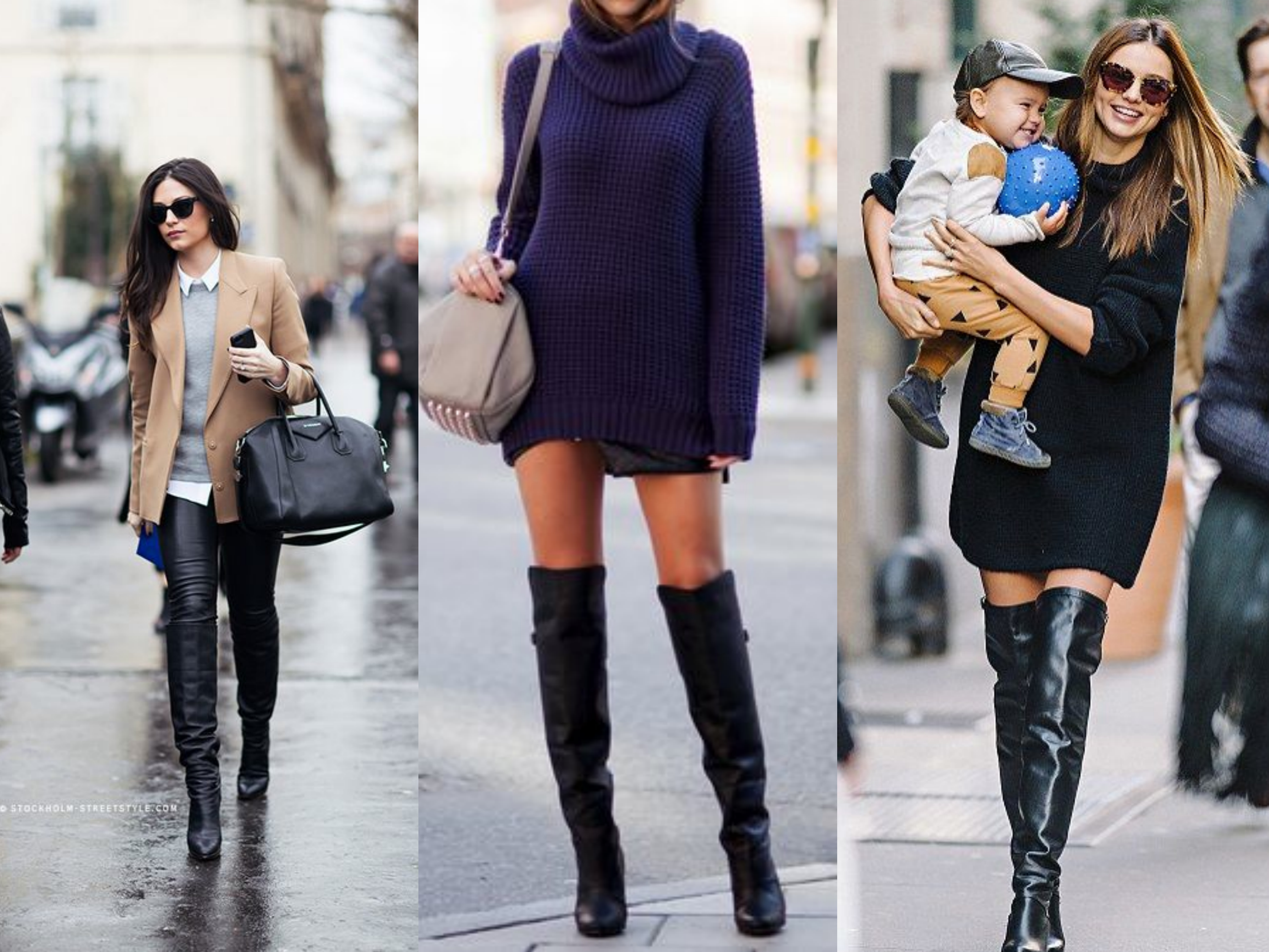 over the knee boots urban chic looks knee high boots outfits