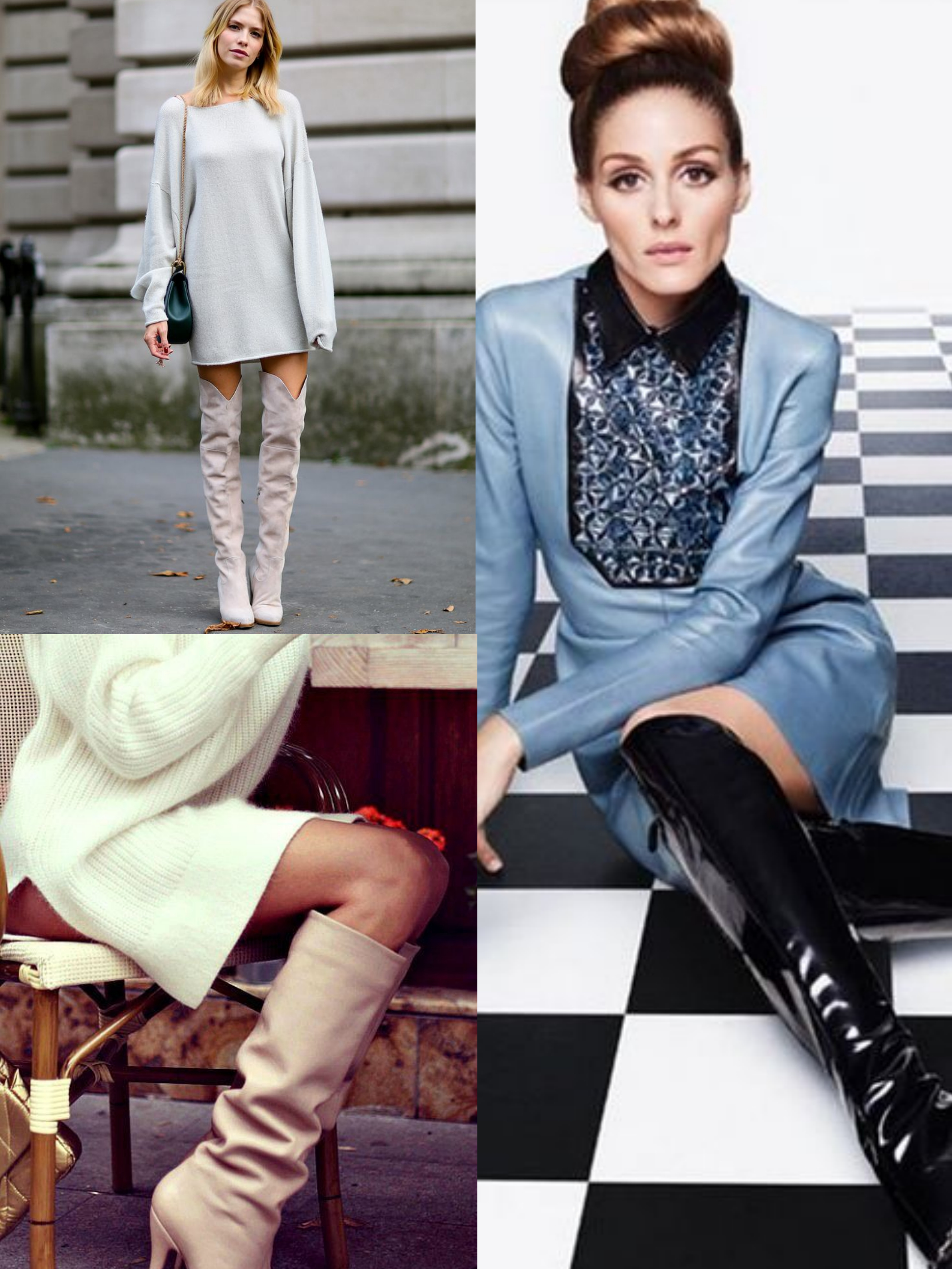 knee high boots outfits