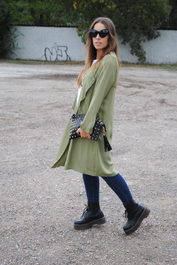 khaki green jacket