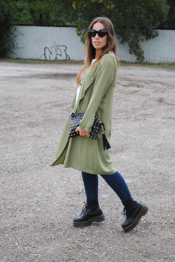 khaki green jacket