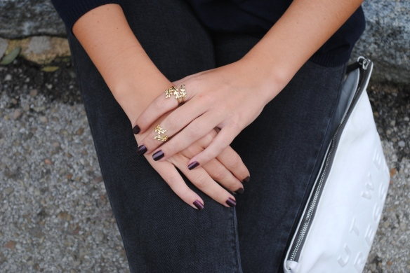 gold matching rings