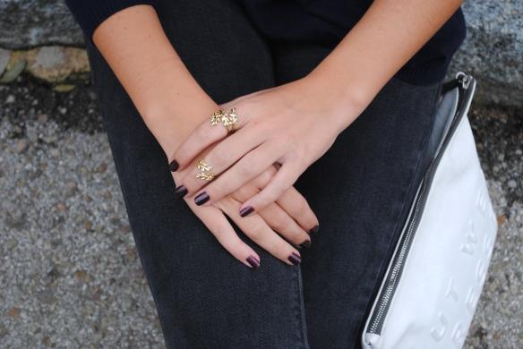gold matching rings