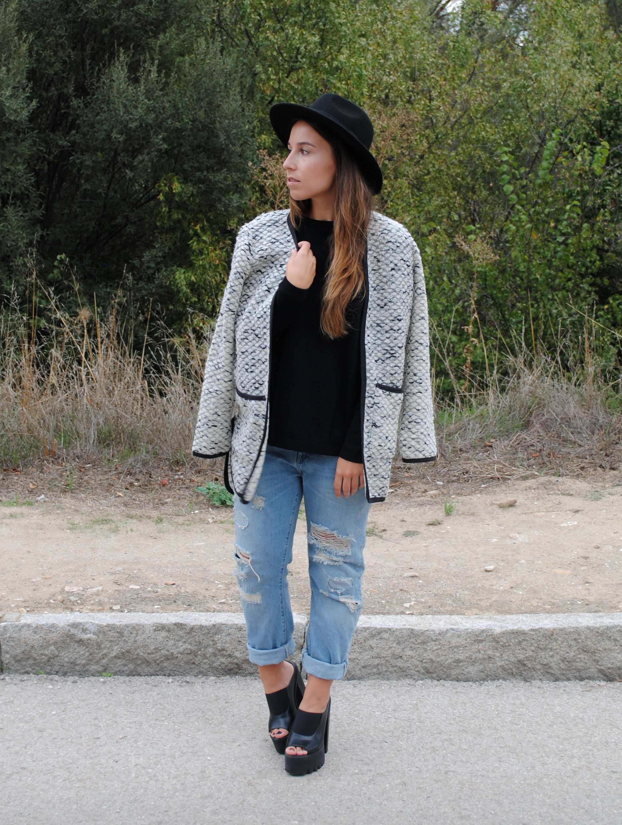 casual chic fall look