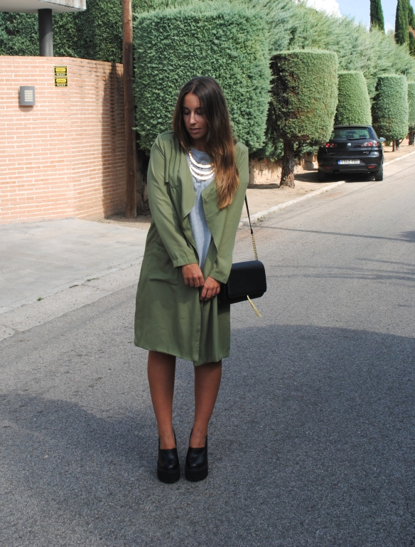 sheinside trench coat