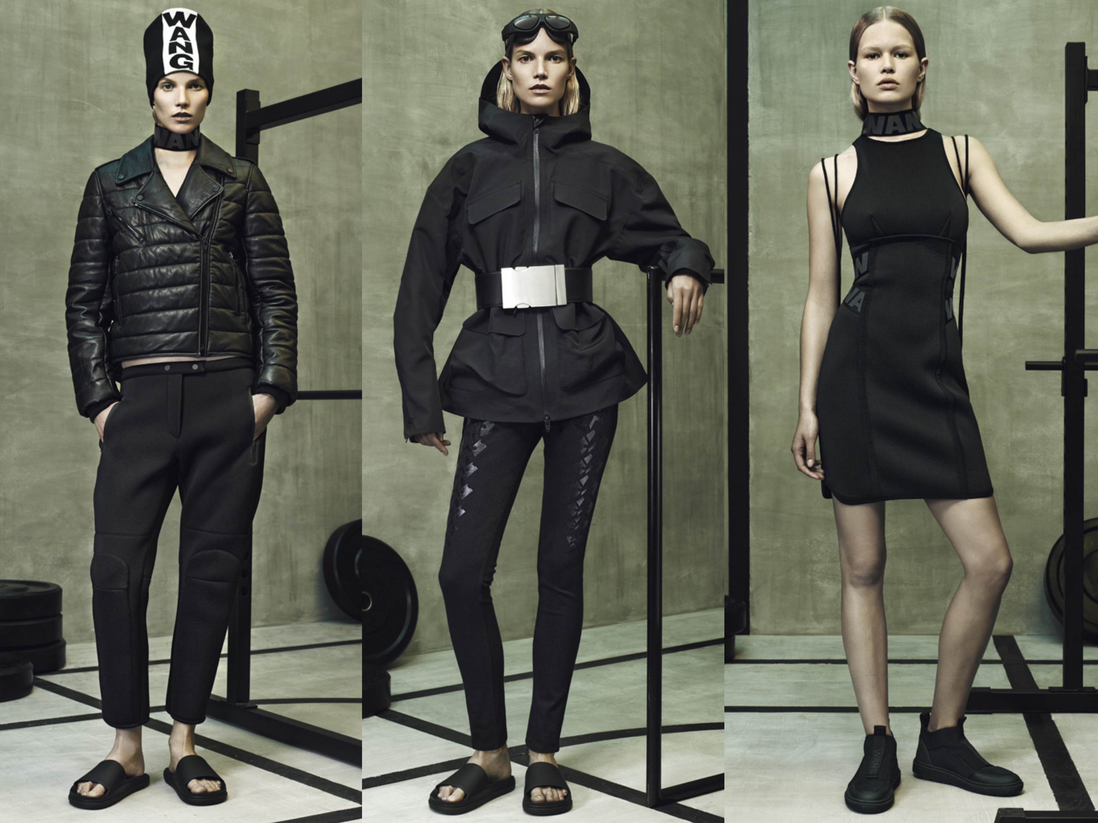 alexander wang x hm outfits