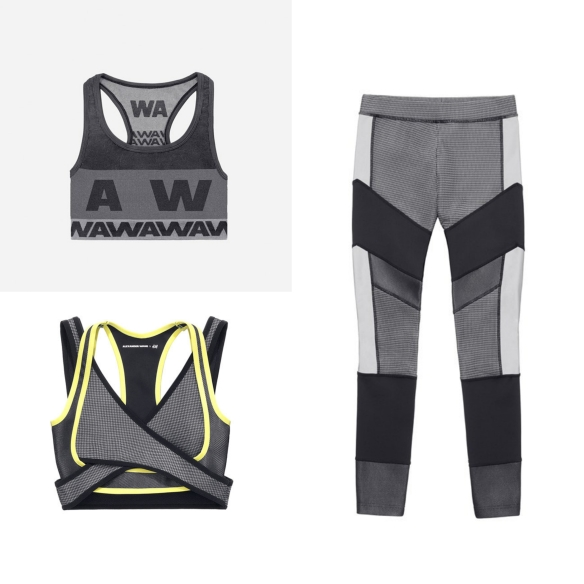 leggings and gym tops alexander wang