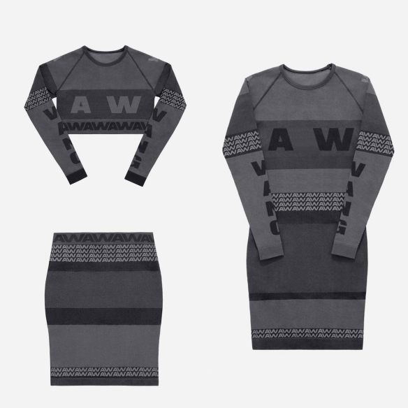 alexander wang x hm dress