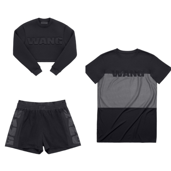 alexander wang black pieces
