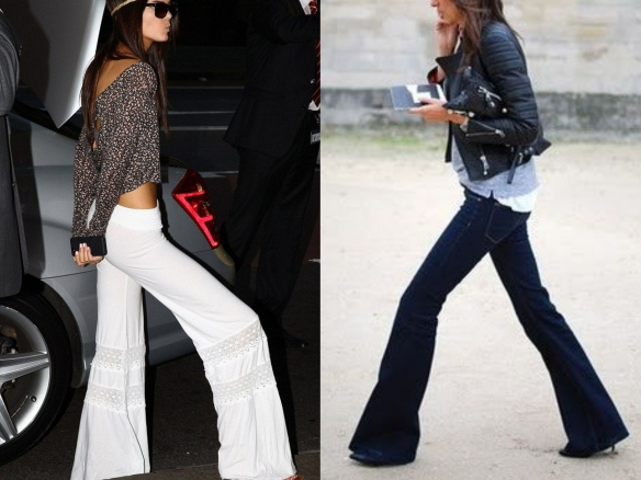 flare pants outfits