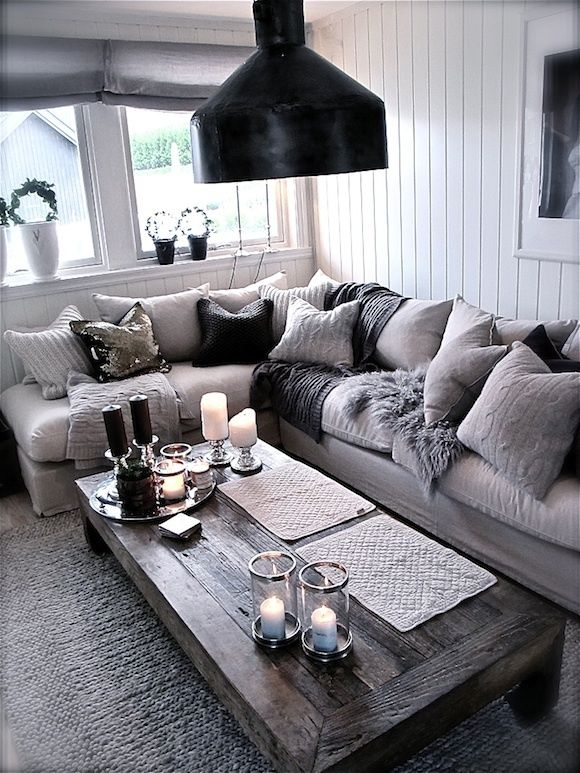 grey home decor
