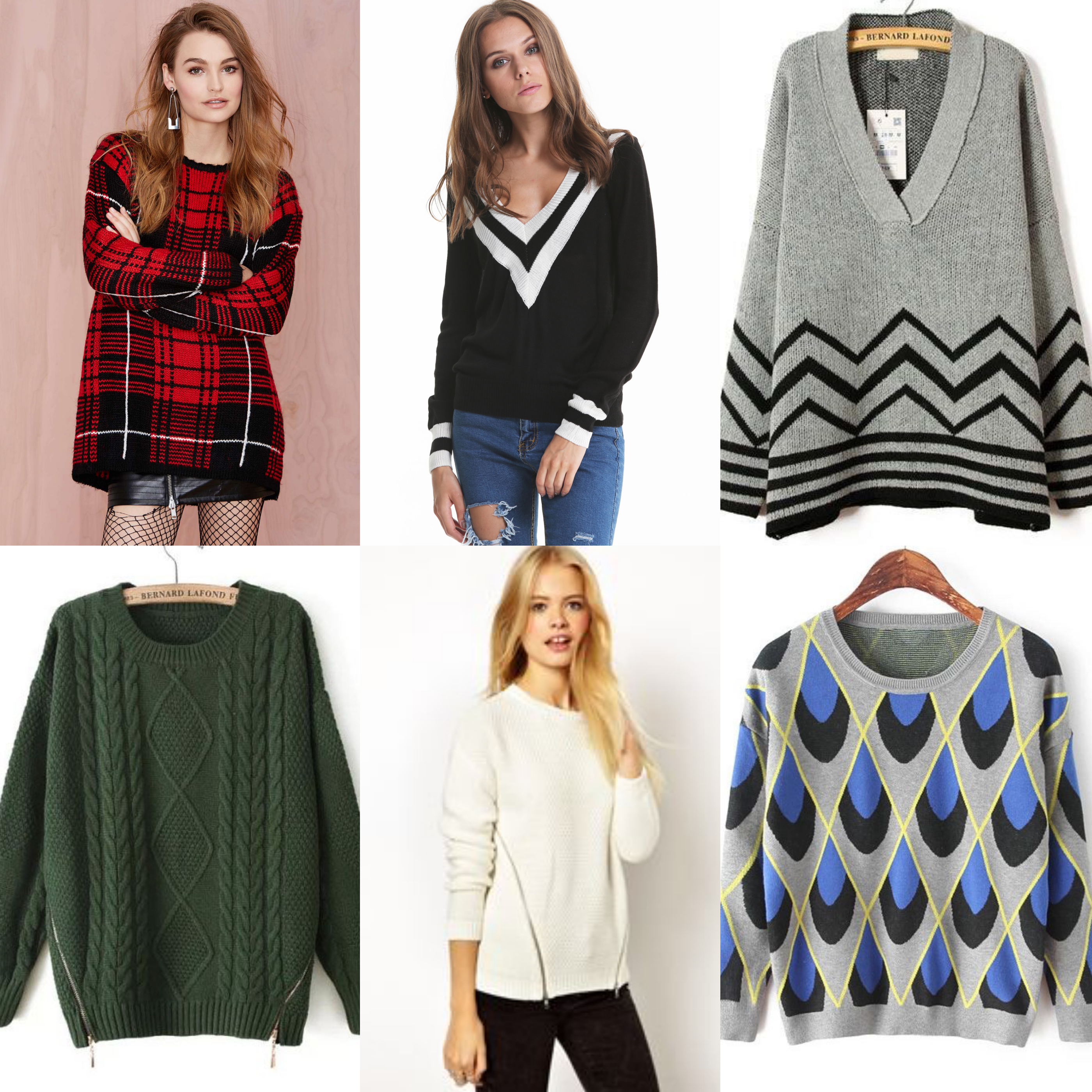 sheinside sweaters