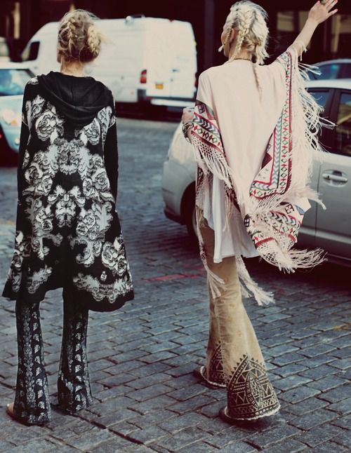 hippie chic looks