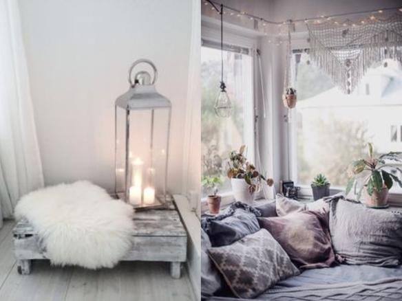decoración interiores invierno