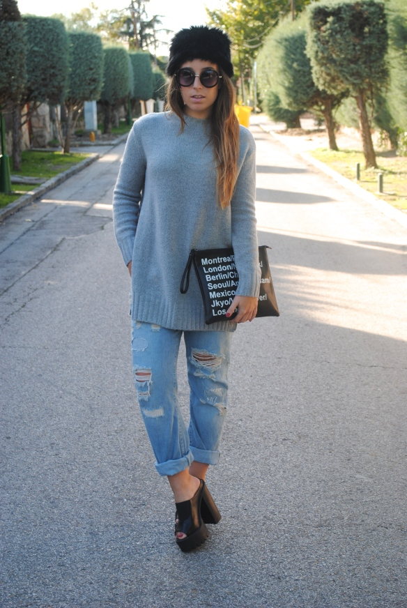 casual chic fall outfit