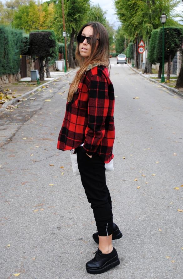 tartan shirt outfit