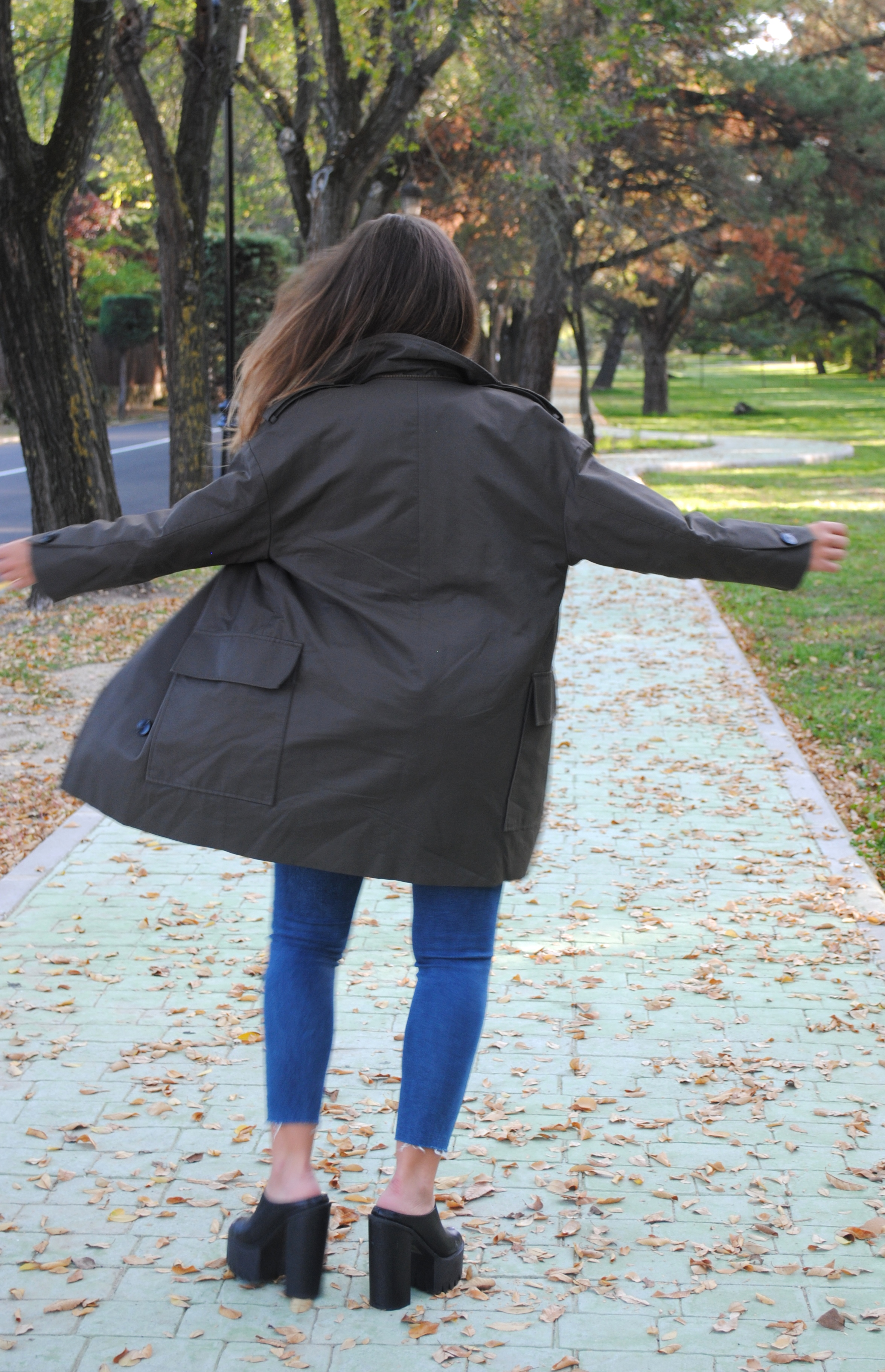 look sencillo otoño