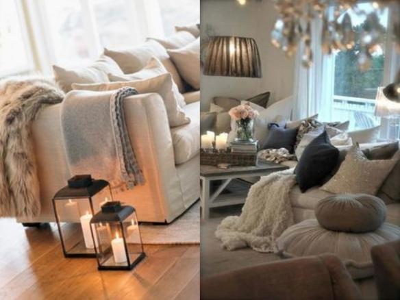 decoración casas invierno