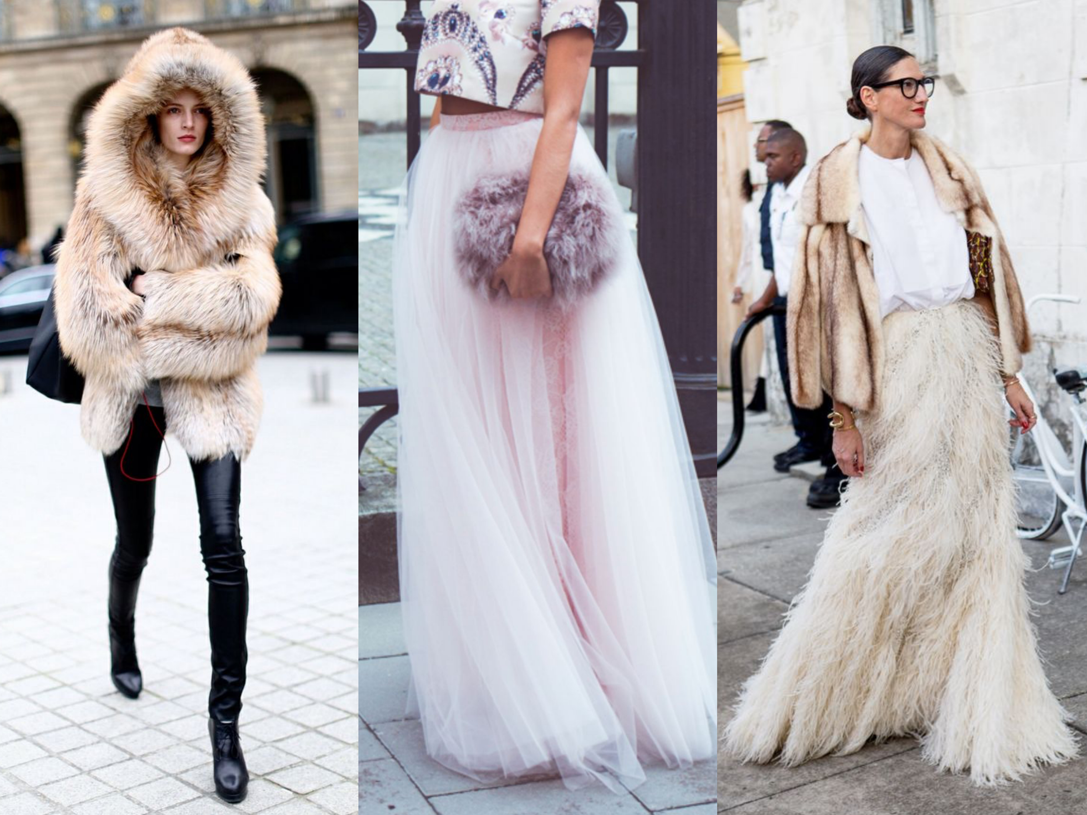 winter fur clothing