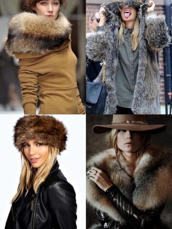 winter fur pieces