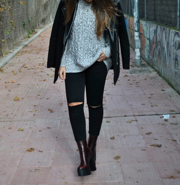 dark colors outfit
